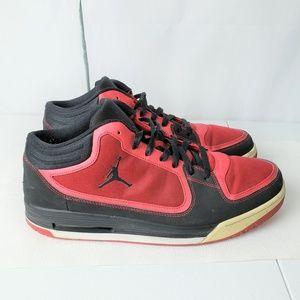 Air Jordan Flight Red Low Top Basketball Shoes 12